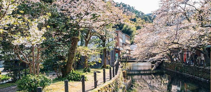 Kinosaki Onsen, Japan